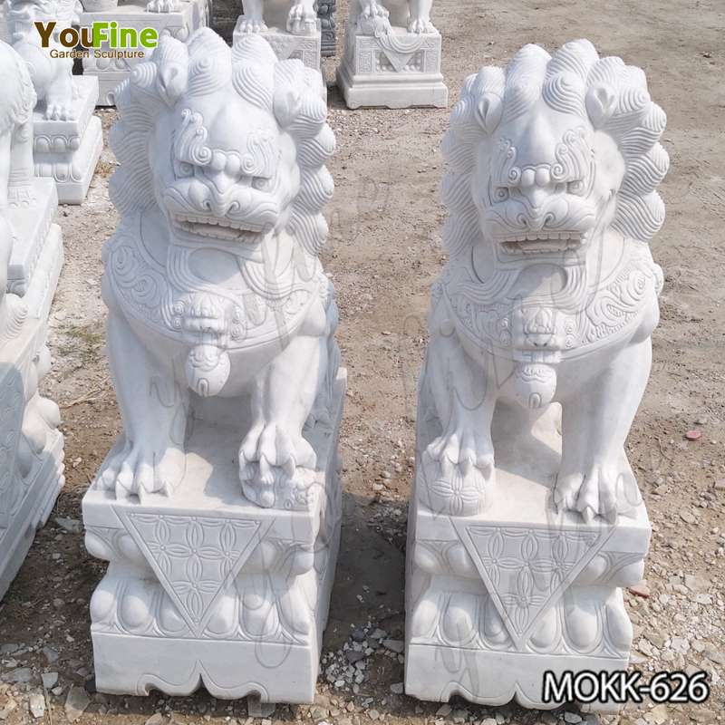 Buy Full Size Chinese Guardian Lion Statues For Sale Mokk 626 In 2020 Statues For Sale Guardian Lion Statue