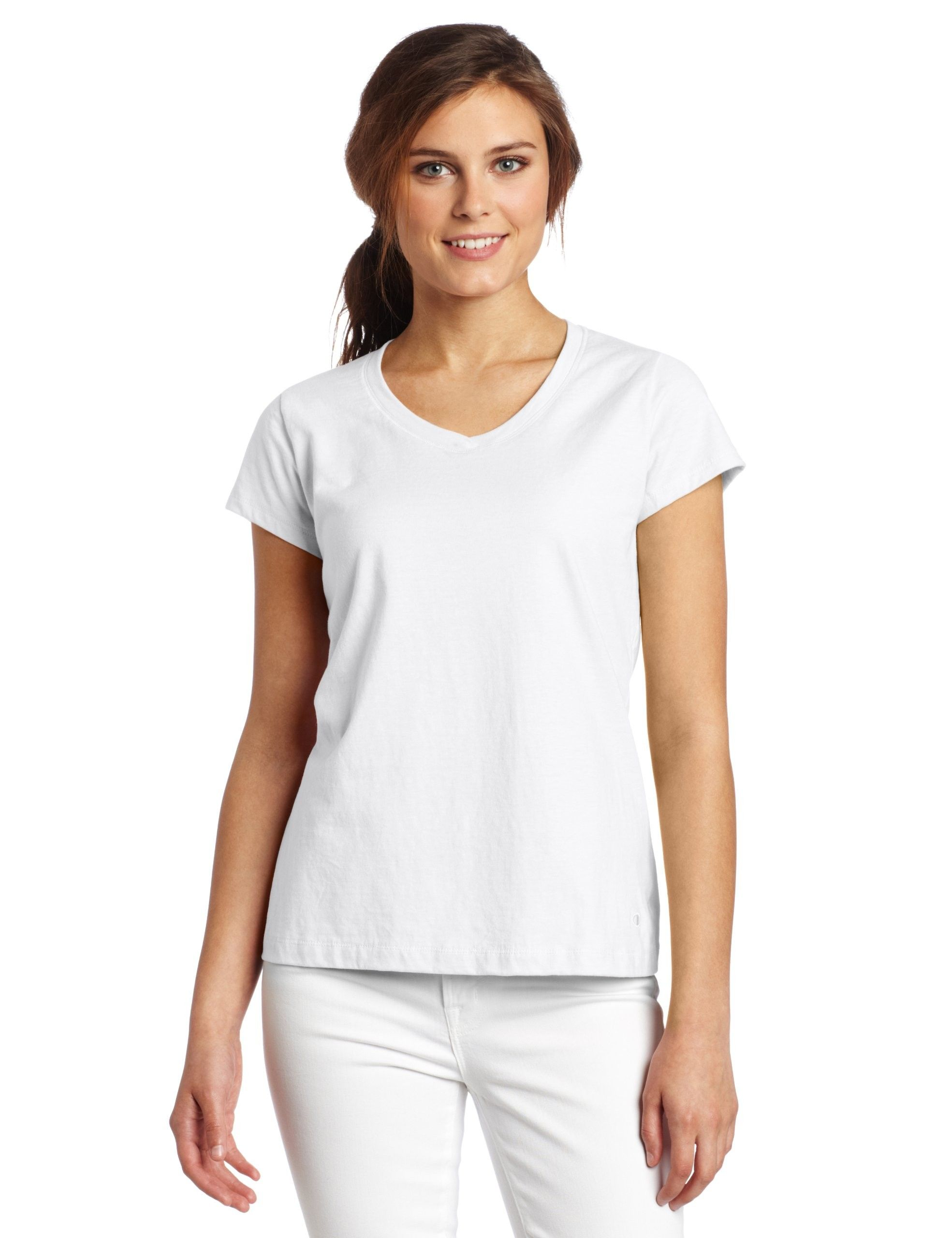Image for fashion for women white t shirt style for Asheville t shirt company