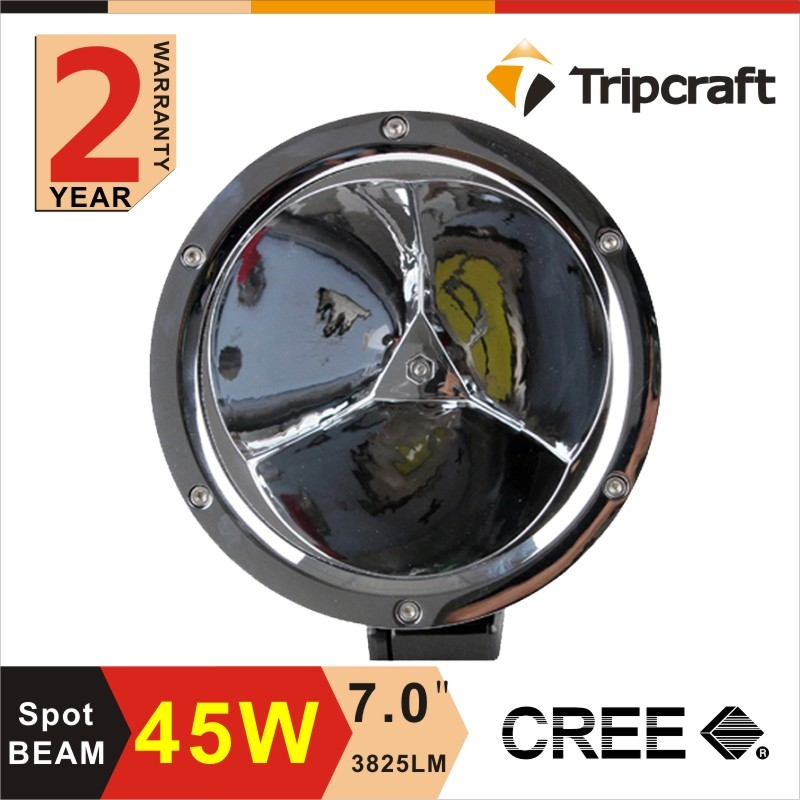 116.40$  Watch now - http://aliyxv.shopchina.info/go.php?t=32749056057 - Freeshipping!2PCS 5.5 inch 45W LED Work Light Lamp for Motorcycle Tractor Boat Off Road 4WD 4x4 Truck SUV ATV Spot Flood 12v 24v 116.40$ #aliexpress