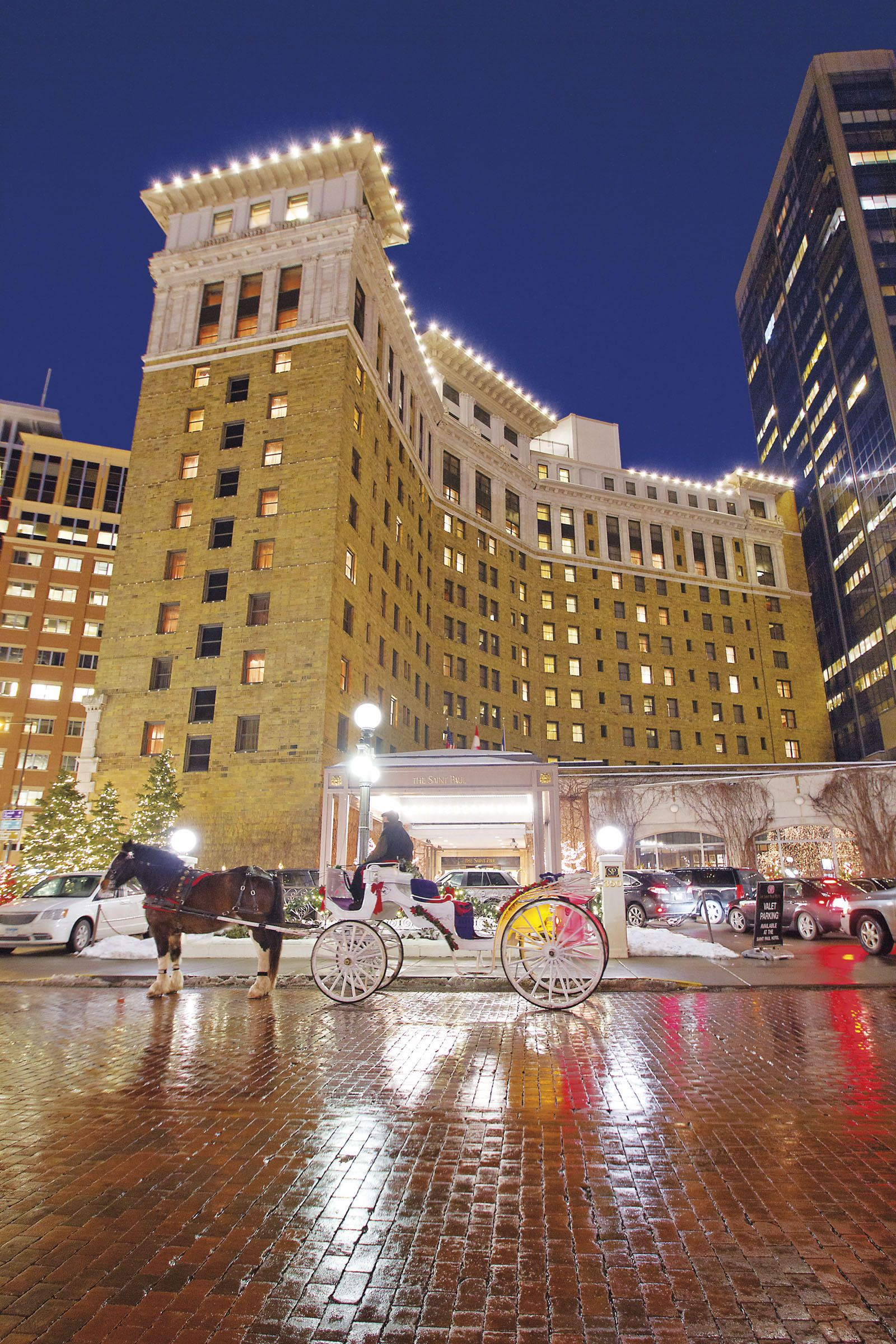 Christmas in August at The Saint Paul Hotel