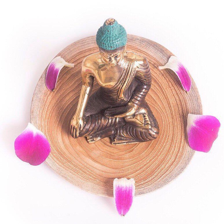 Happy Buddha Statue, Spiritual Gift, Buddha Decor, Buddah Statue, Buddha Altar, Yoga Boho Decor, Feng Shui Gift, Brass Buddha, Small Buddha #buddhadecor