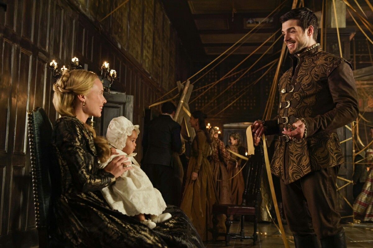 Reign Season 4 Episode 9 Pulling Strings Greer Pirate Baby And
