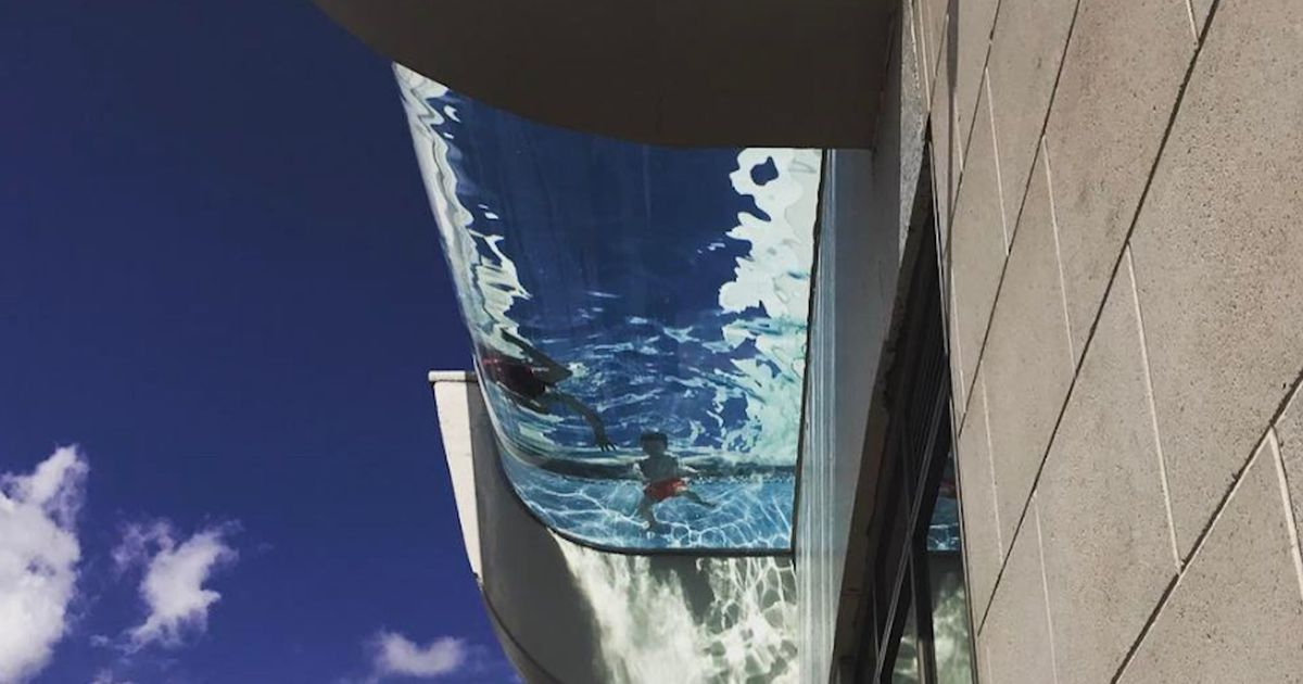 This Sky Pool Lets You Fly And Swim At The Same Time Sky Pool