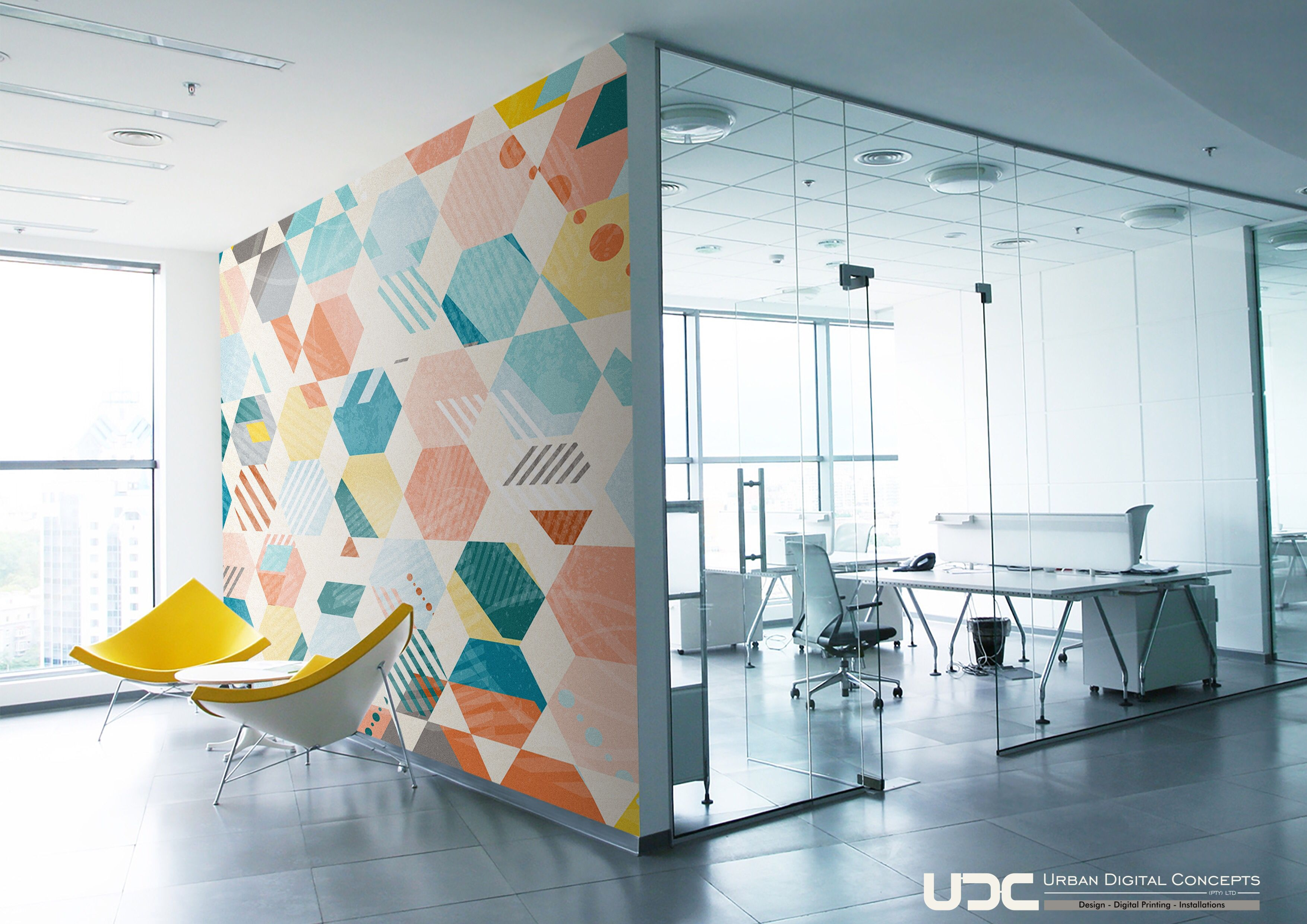 Pin By Wci Wallpapers Pty Ltd On Office Interior Design Wallpaper