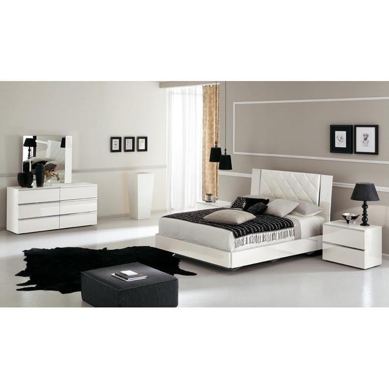 White Lacquer Stella Bedroom The White Lacquer Stella Italian