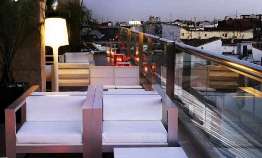 Urban Hotel Vacaciones De Lujo Terrazas Madrid Terrazas