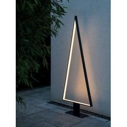 Photo of Led floor lamp Pine Outdoor sompex gray, 160×62 cm SompexSompex