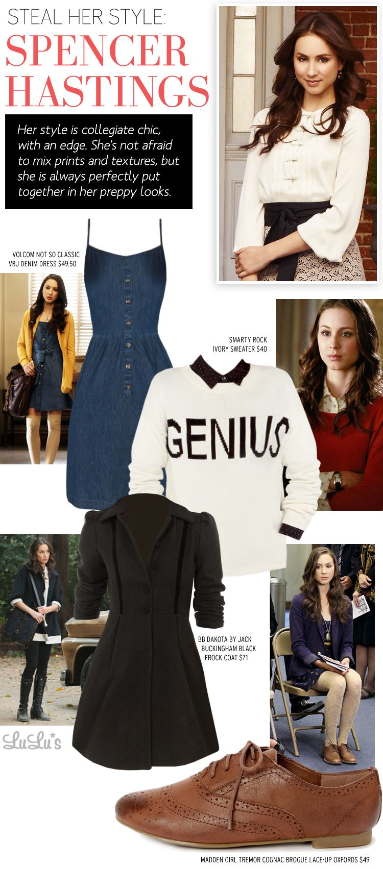 how to get spencer hastings hair
