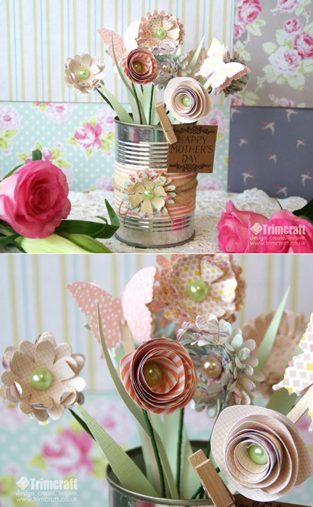 1d8f0af72b351 Homemade Mother's Day Gifts And Ideas   Scrapbook & paper crafts ...