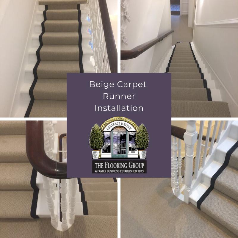 Carpet Runner Installation In Swiss Cottage