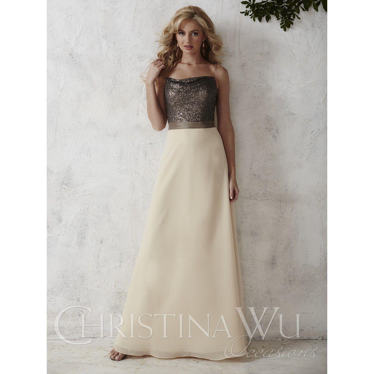 Bridesmaid Dress Available at Ella Park Bridal | Newburgh, IN | 812.853.1800 | Christina Wu Occasions - Style 22666