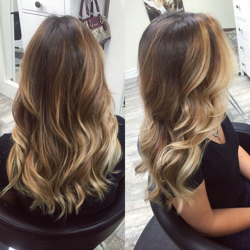 Soft Halo Balayage By Samantha Mickelson Balayage Hair Balayage Hair Honey Salon Hair Color