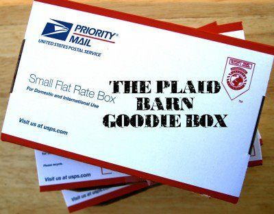 The Plaid Barn Goodie Box - Only $13.97!!!  at The Plaid Barn.  Get over $50 worth of crafty supplies for $13.97.