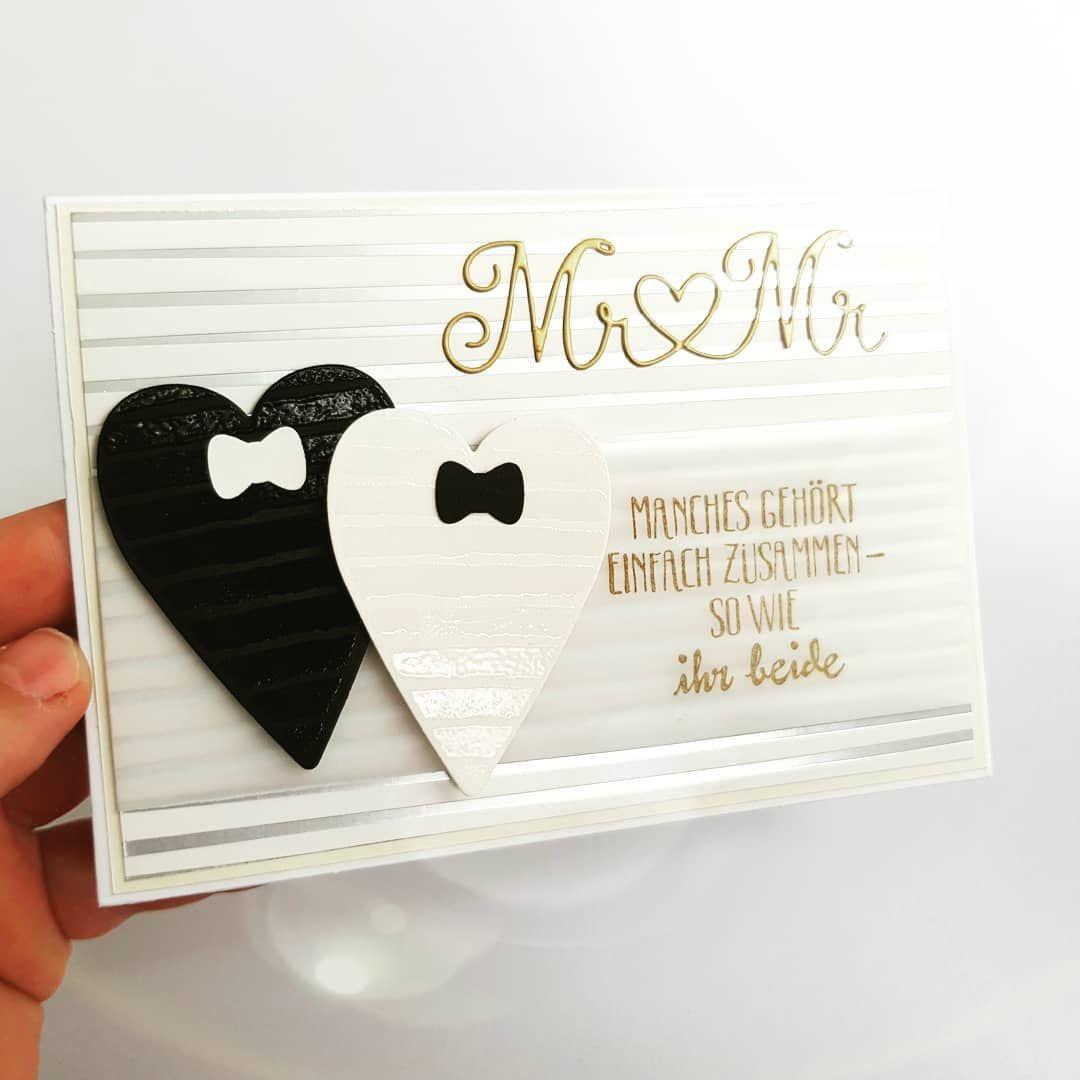 Hochzeitskarte gleichgeschlechtliche ehe männerppaar schwul ratzis bastelküche