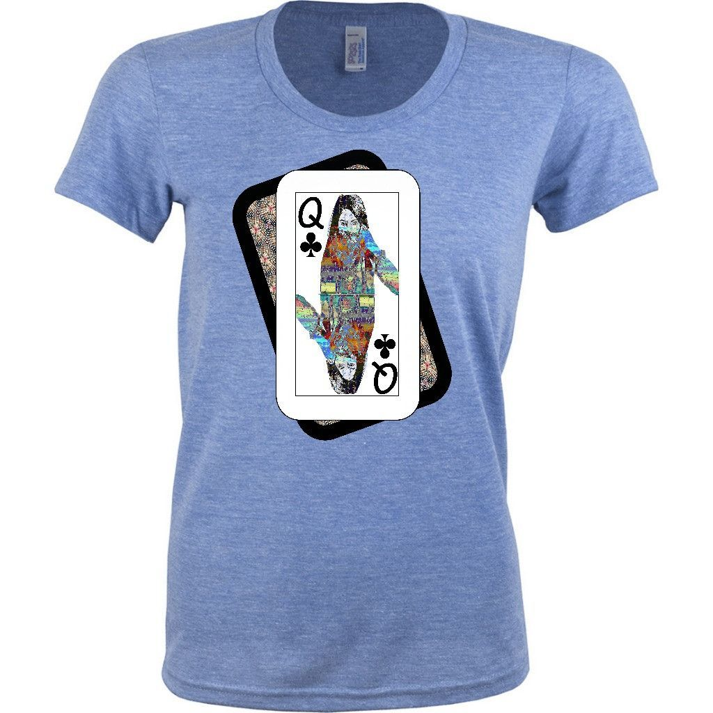 Play Your Hand...Queen Club #4's Women Tshirts