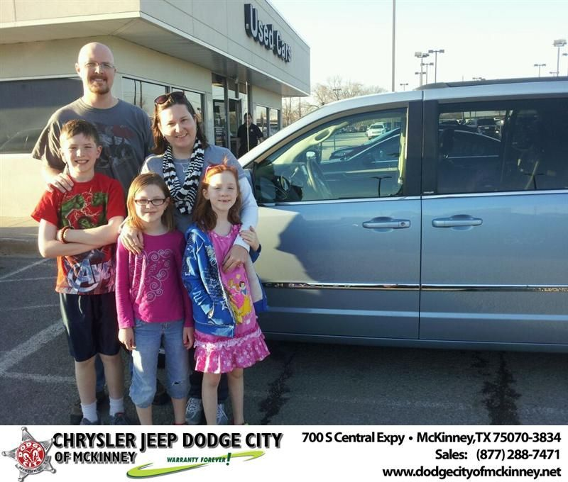 Congratulations To Brian Thornburg On Your New Car Purchase From Brent Villarreal At Dodge City Of Mckinney Newcar Dodge City New Cars Dodge