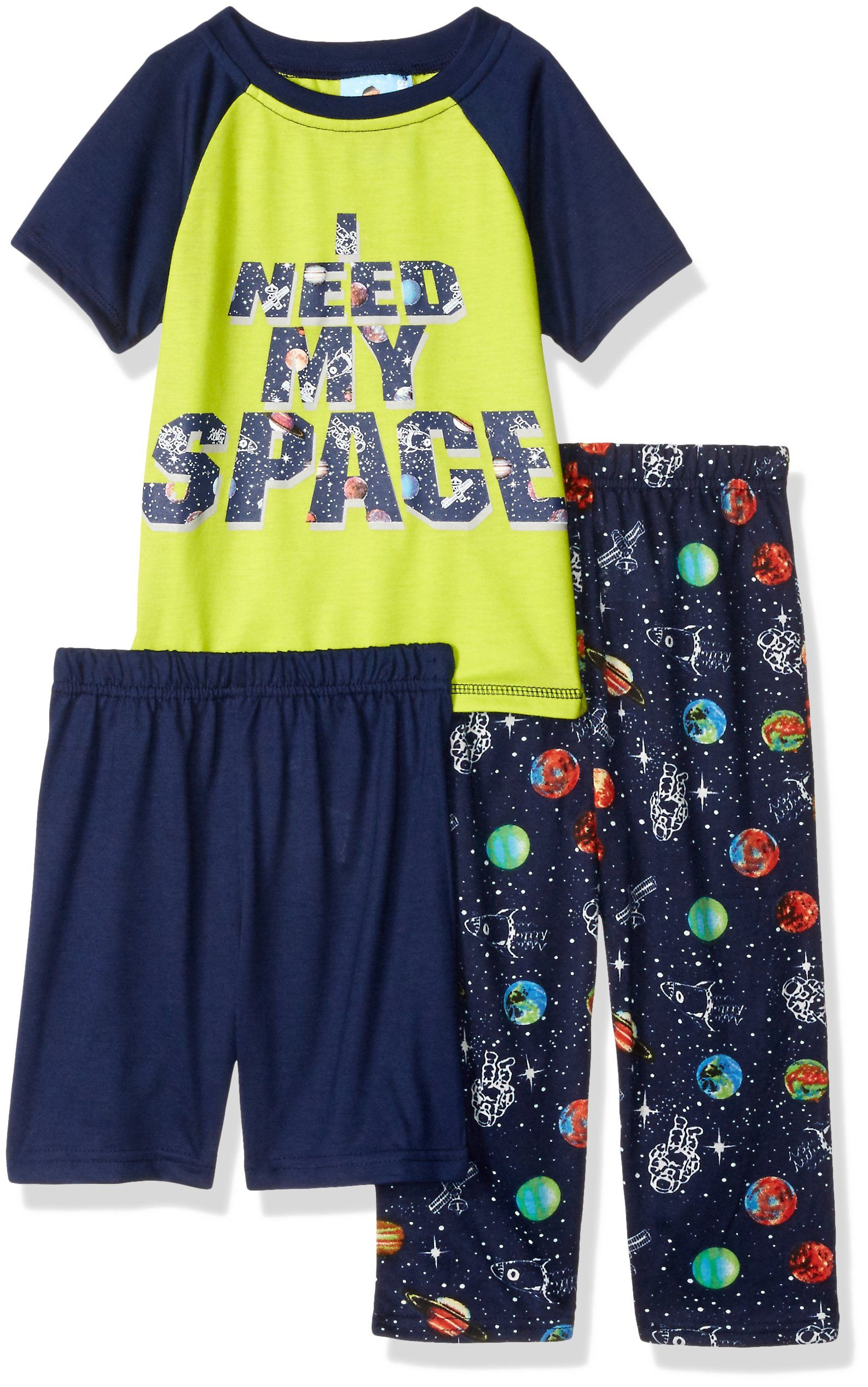 134211e38b6a Baby Bunz Toddler Boys I Need My Space 2 Pc Pajama Sets Multi 4T ...