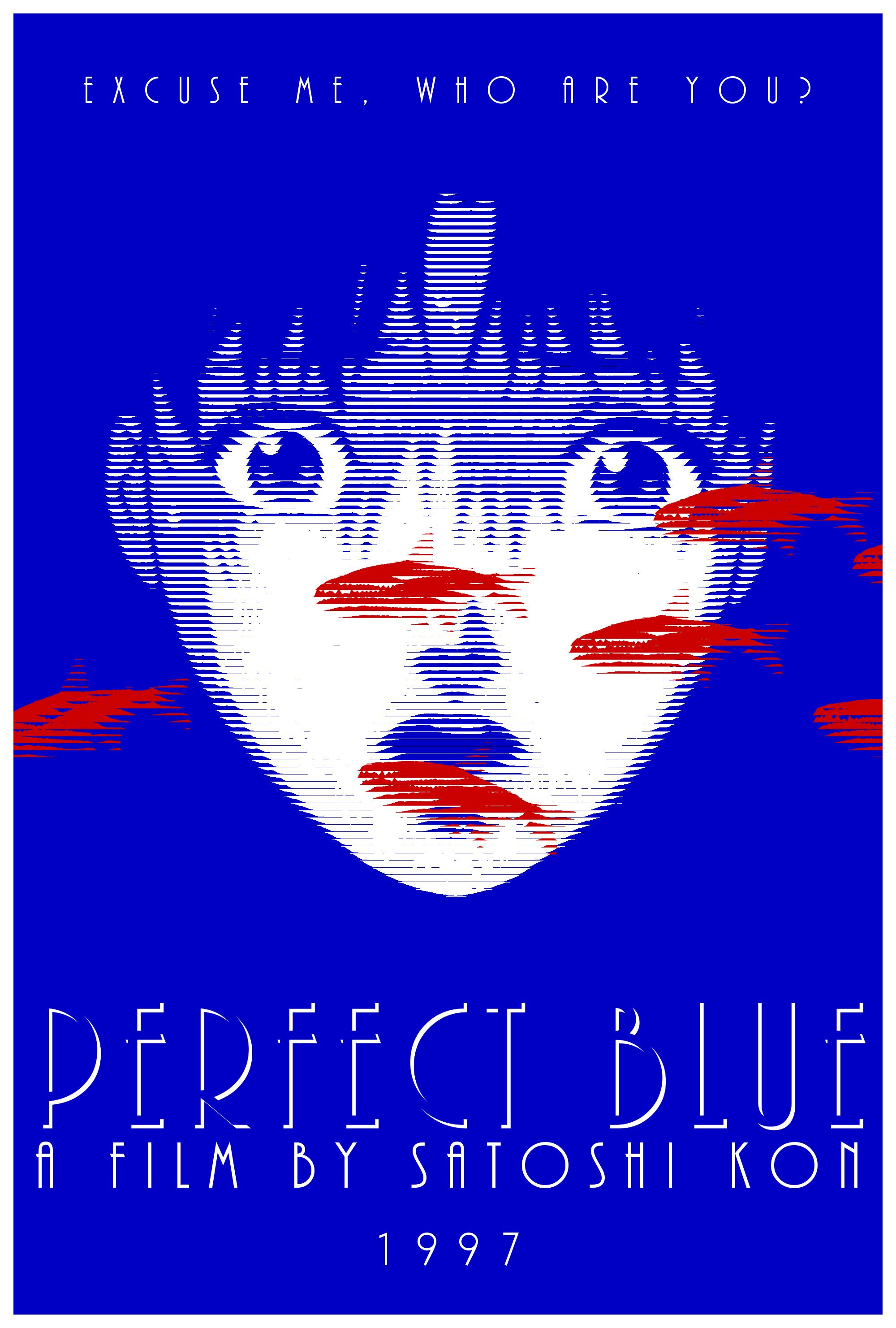 Perfect Blue ➁ In 2019 Satoshi Kon Blue Anime Blue