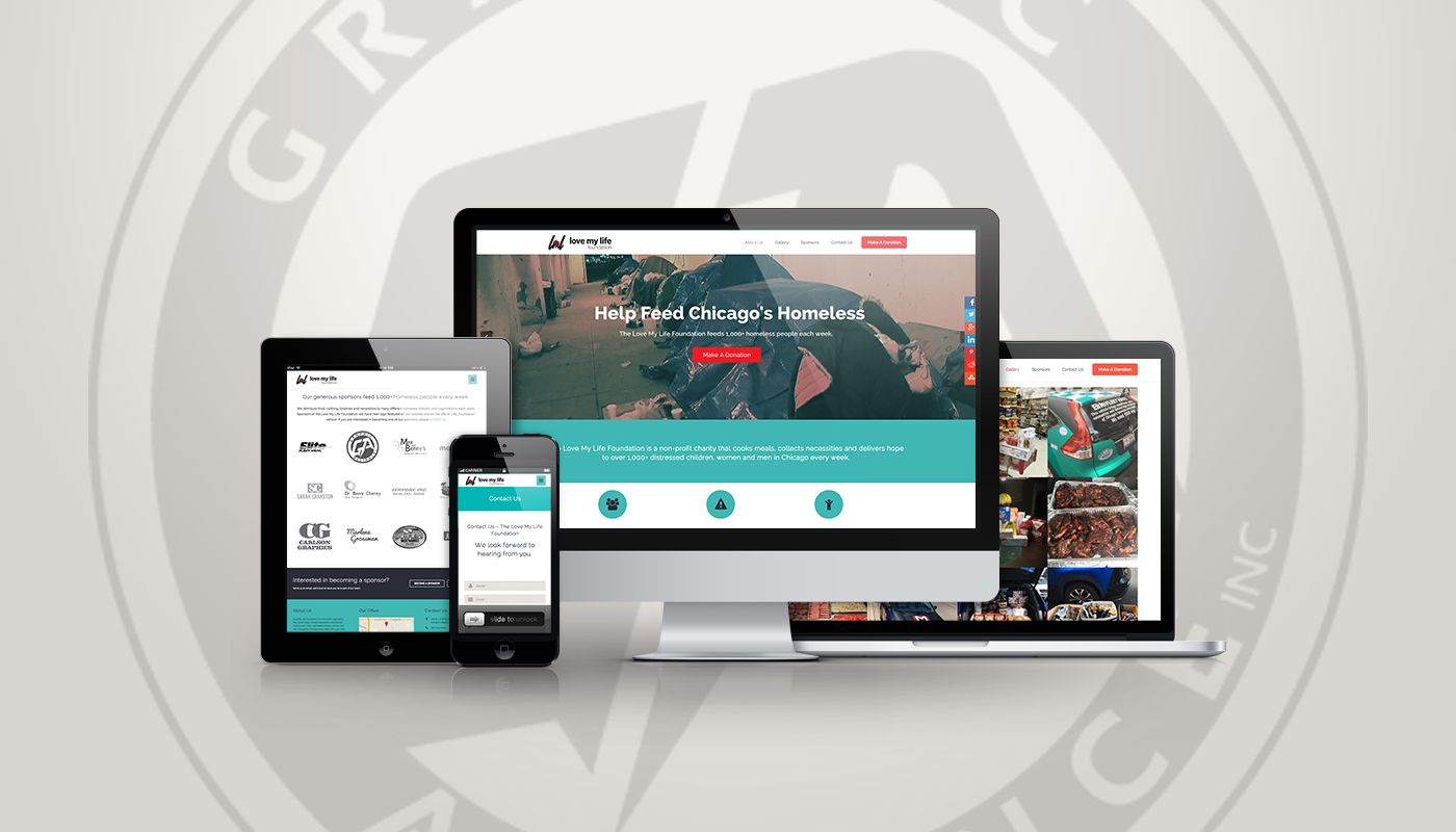 Responsive web design by graphic alliance inc call