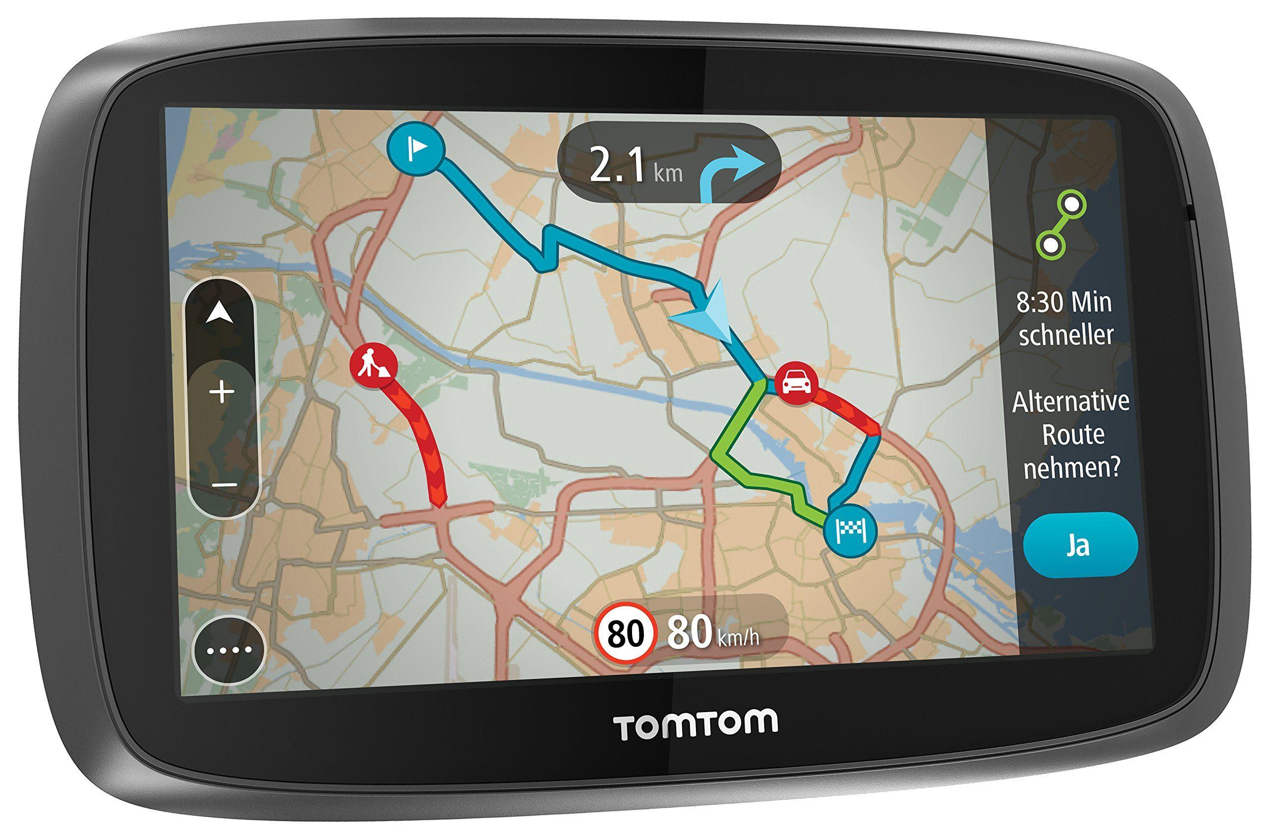"""TomTom GO 5000 EU - 5"""" Sat Nav with Full European Lifetime Maps, Lifetime Traffic Updates"""