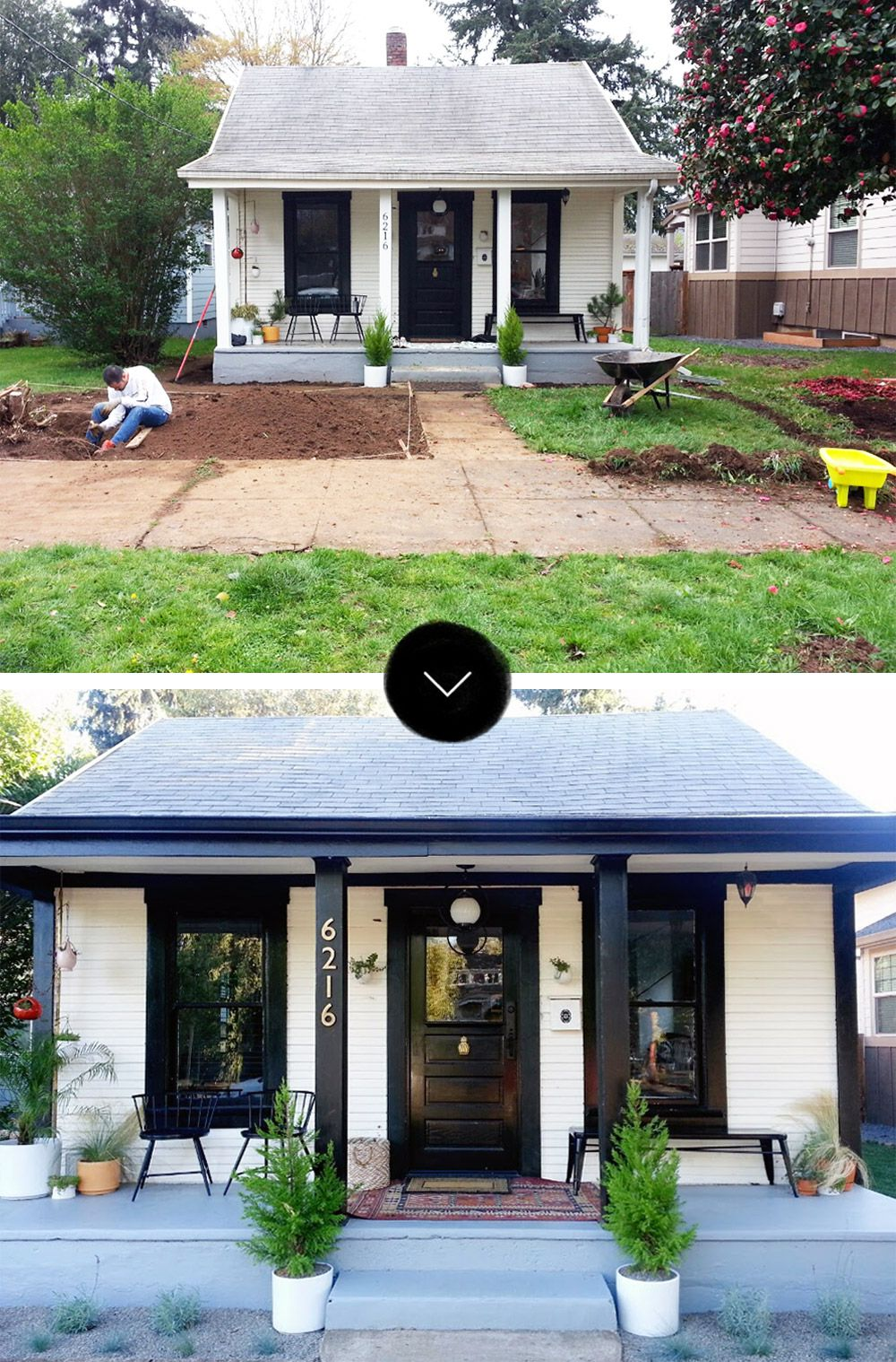Before & After: The Little NoPo Farmhouse Yard In 2020