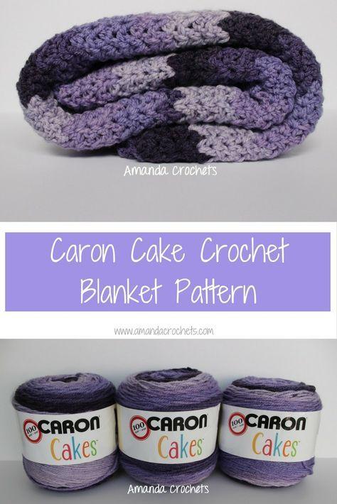 Caron Cake Crochet Blanket Pattern | Crochet Fun | Pinterest ...