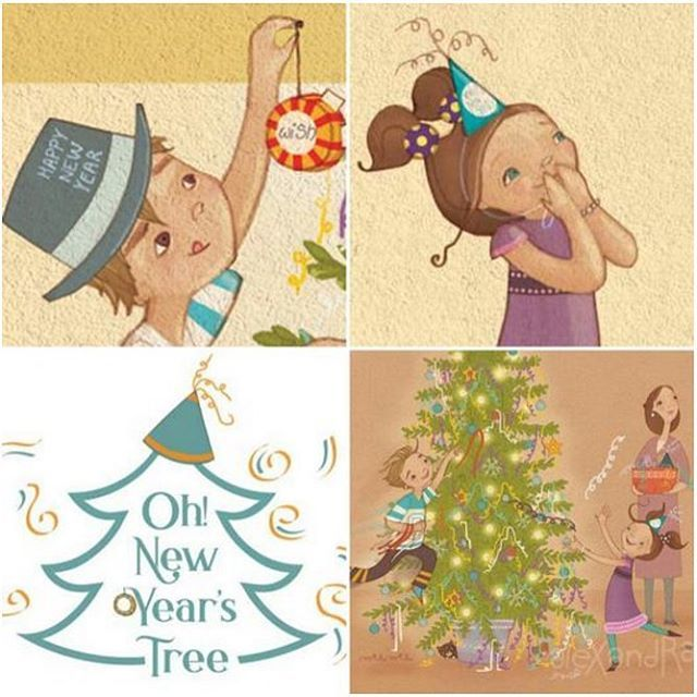 #worthsharingtuesday @ohnewyearstree Turn your Christmas Tree into a New Year's Tree and Wish Upon the New Year!!!  (📷: https://www.ohnewyearstree.com)