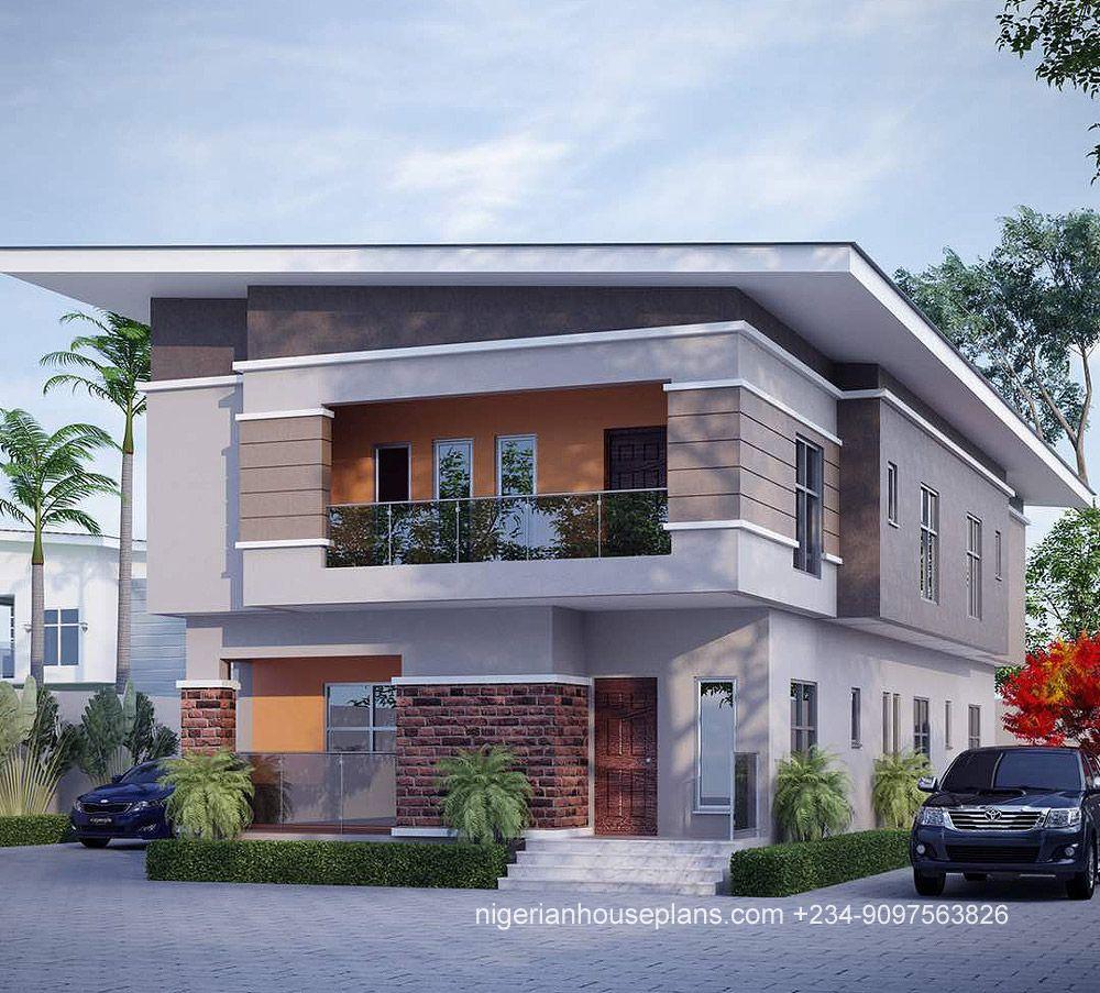 5 Bedroom Duplex Ref 5023 Duplex House Design Building House Plans Designs Duplex Design