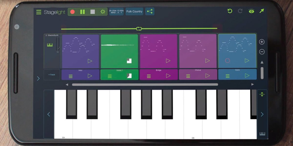Stagelight teaches you how to make music on your Android