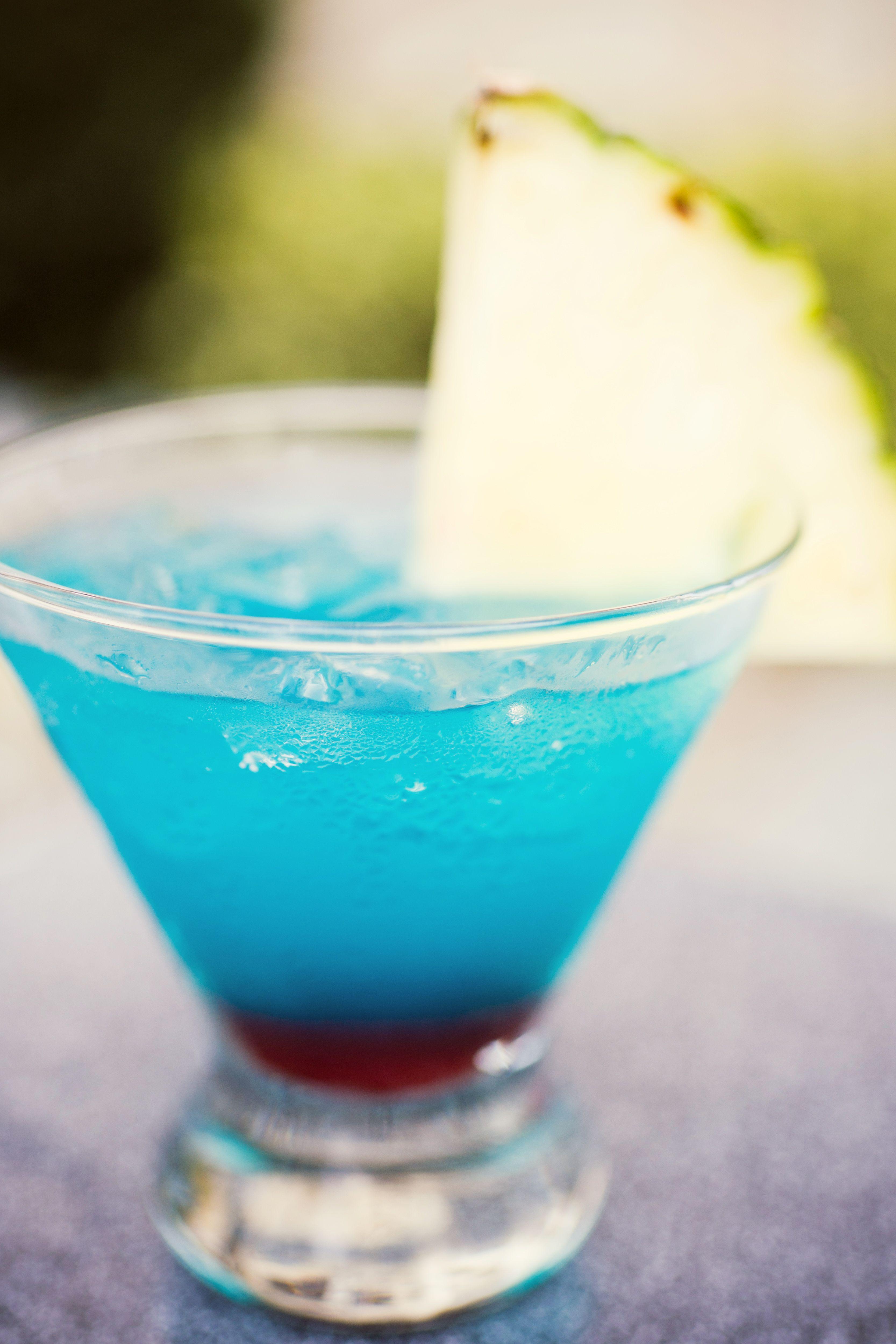 signature blue cocktail coastal baby shower movie