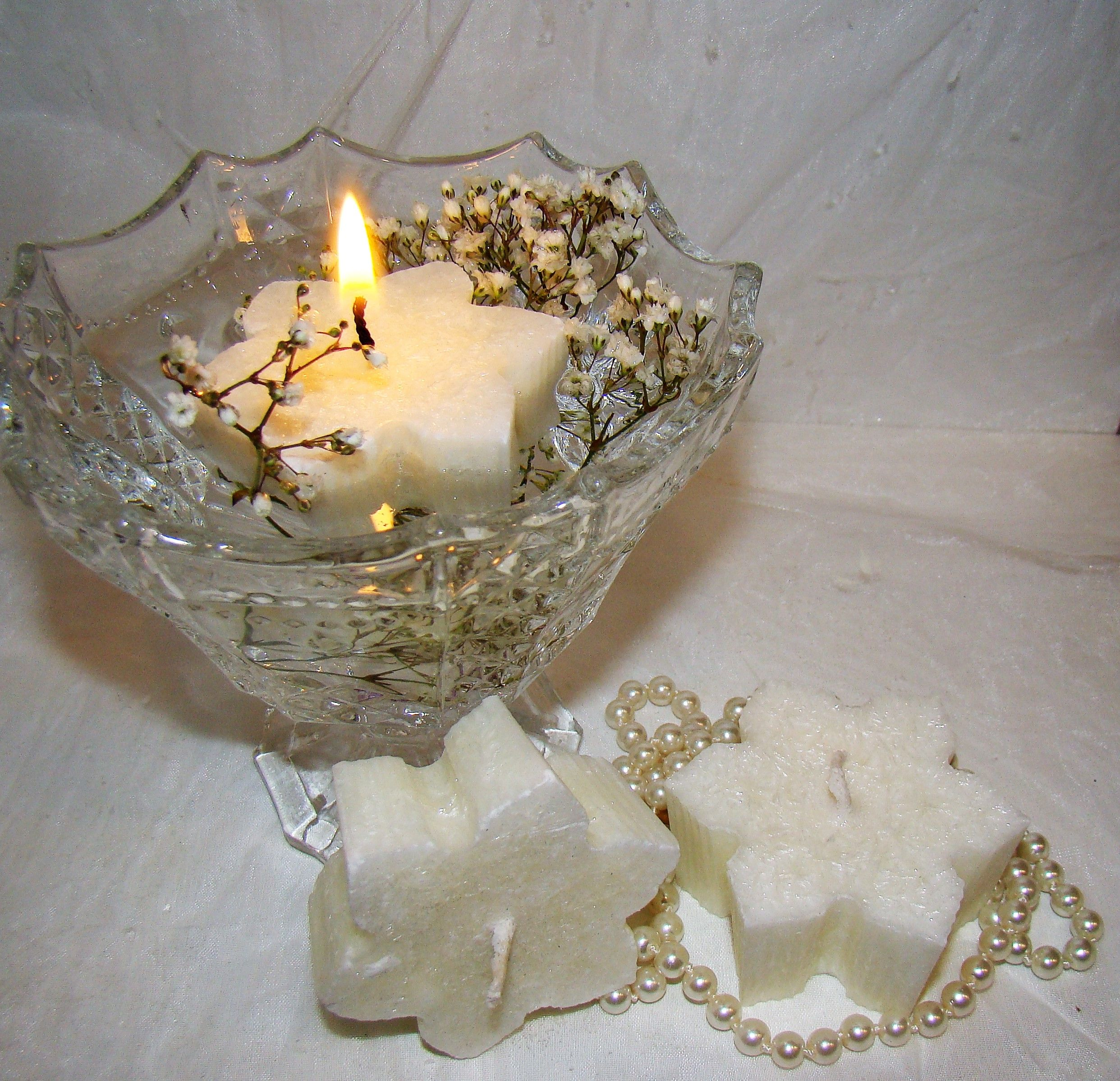 White Candle Star Christmas Candle Wedding Christmas Centerpiece Table Decor Candle Gift Star Table Decor Floating Candle Christmas Decor Floating Candles Wedding Candles Candles