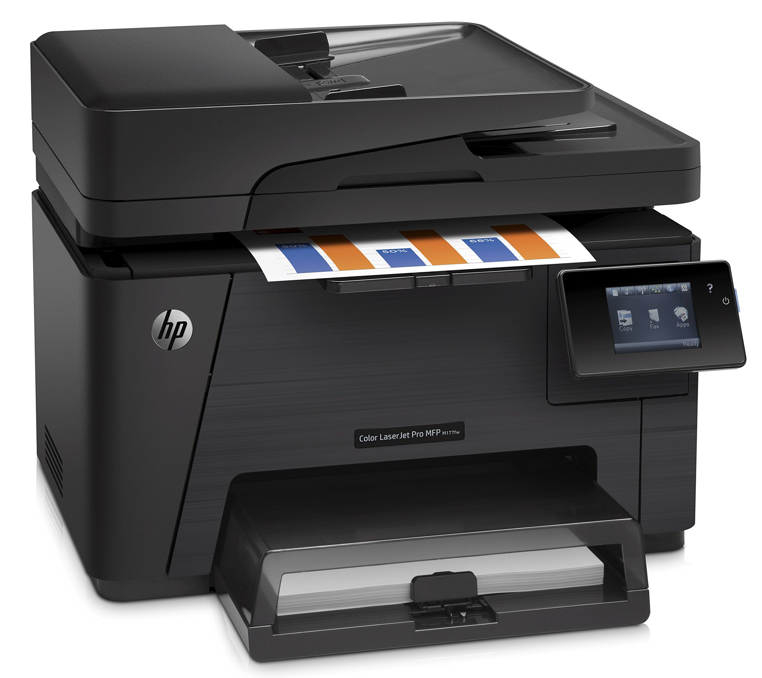 Hp Laserjet Pro M177fw Wireless Allinone Color Printer Cz165a See This Great Product Affiliate Link Compute Multifunction Printer Printer Scanner Printer