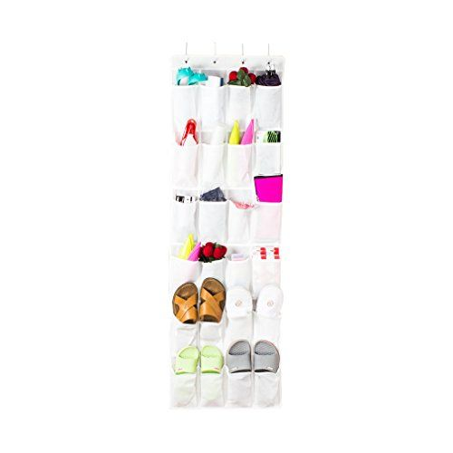 #manythings The #Colleer 24 Pockets #Hanging Organizer offers an easy and efficient way to store your shoes, toys and any other accessories. Instantly transform y...