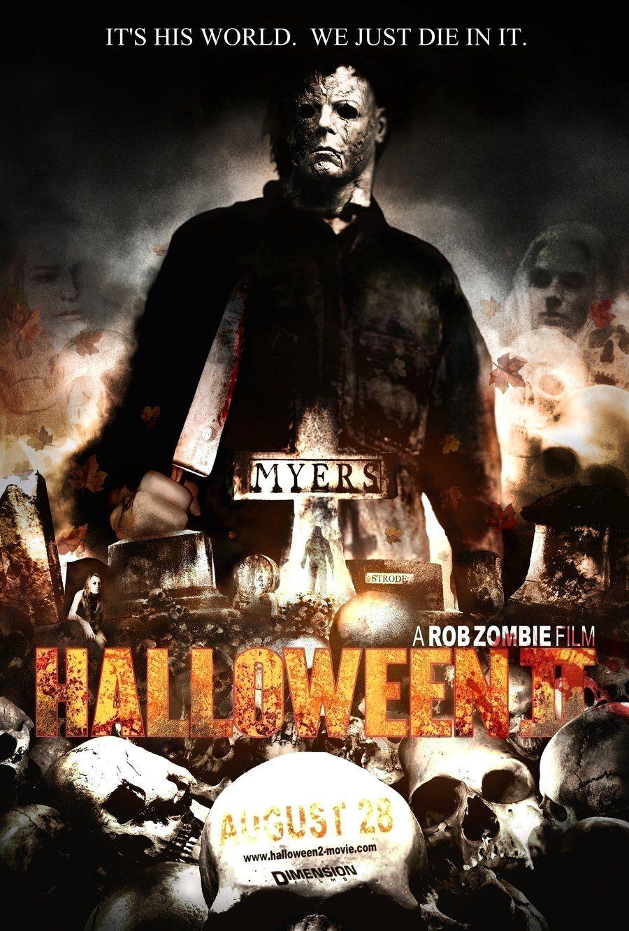 Halloween posters Halloween 2 2009 Poster My halloween
