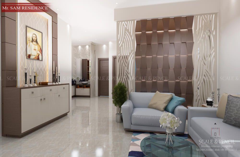 Living Area Living Room Interior Design Kochi Ernakulam Kerala