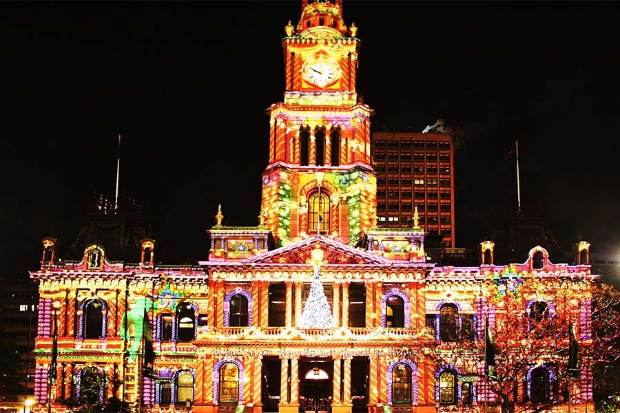 christmas lights sydney