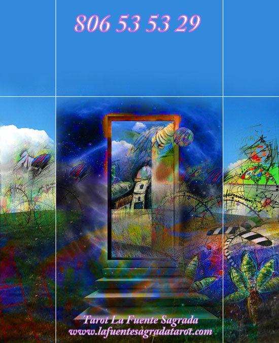El Tarot abre ante ti esas nuevas puertas, el tarot  te predice las oportunidades  que el Universo te trae y, de las que no eres consciente atrapada en los enredos  que te preocupan.  Estás de pie en el corredor de la Vida, y detrás de ti se han cerrado ya muchísimas puertas,  cosas que ya no haces, ni  dices, ni piensas; experiencias que ya no tienes.  El Tarot te hace consciente de las puertas que has cerrado en tu pasado y, en las que  tienes que cerrar