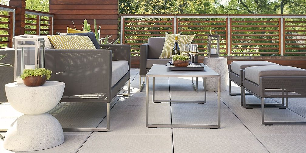 Crate And Barrel Patio Furniture Outdoor Sets