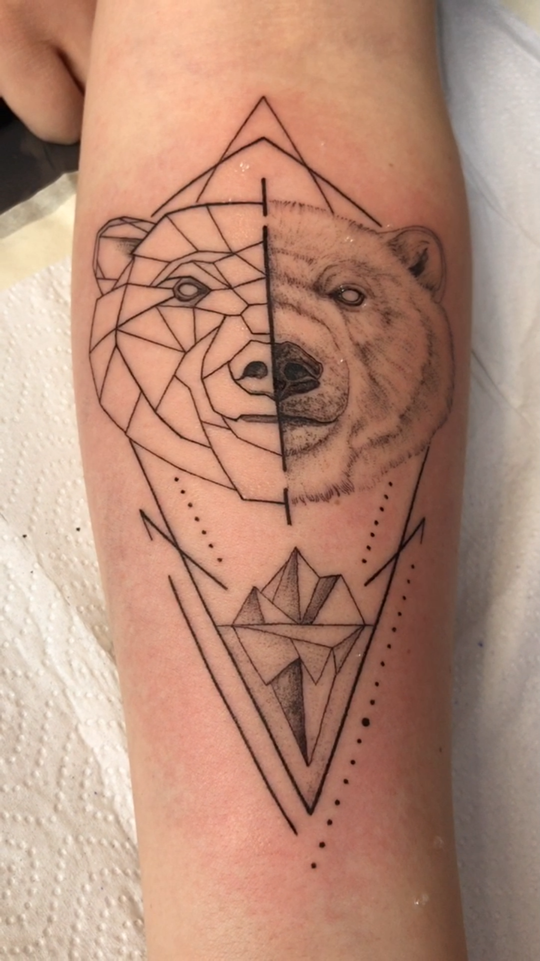 Тату геометрия. Тату медведь геометрия эскизы. 100+ татуировок и эскизов на нашем сайте, заходи!