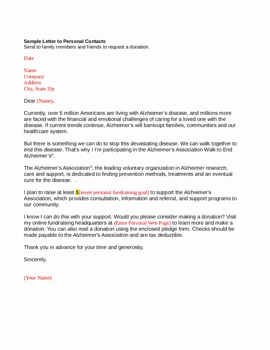 personal letter format template new 2018 personal letter