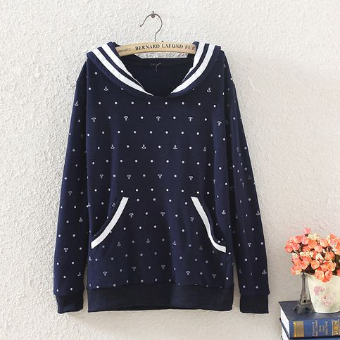 Style: Fit tight  color:navy Fabric Material: Cotton Size : M:Bust 94cm; Length 65cm; Sleeves 56cm,Shoulder 46cm L:Bust 92cm; Length 64cm; Sleeves 55cm,Shoulder 45cm  (1cm=0.39inches)  Origin: Made in China  Care: Wash by hand or machine wash cold. Do not bleach. Do not tumble dry. Lay fl...