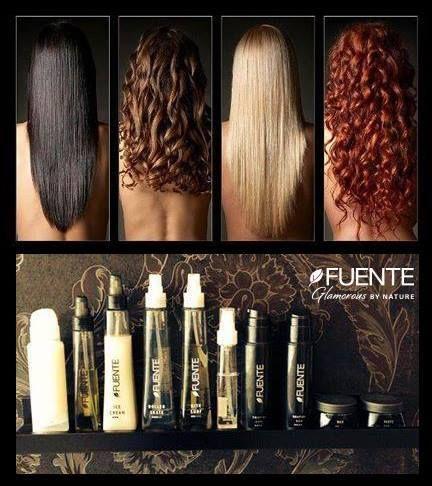 Non importa che tipo di capelli tu abbia... ma con gli styling Fuente puoi avere i capelli che hai sempre desiderato!