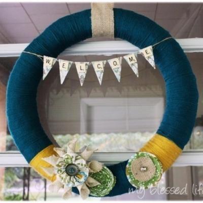 Yarn Wreath-want one