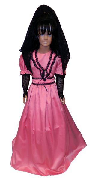 5fc66b61a Dama Antigua | disfraces | Vestidos de dama antigua, Disfraz de dama ...