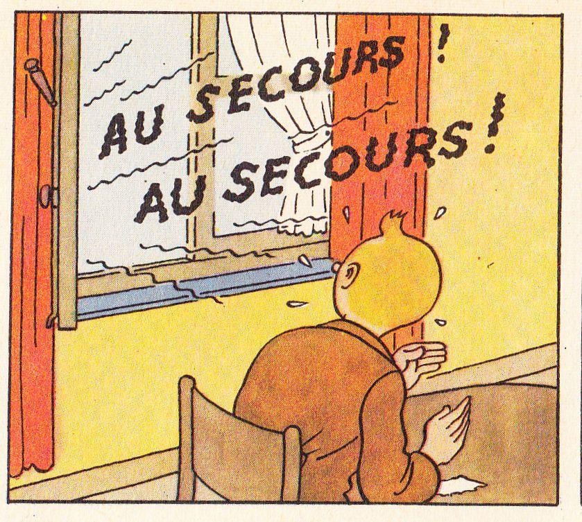 """""""Le crabe aux pinces d'or""""  neuvième album de bande dessinée des aventures de Tintin, par Hergé (pseudonyme de Georges Prosper Remi - 1907-1983 Belgique)."""