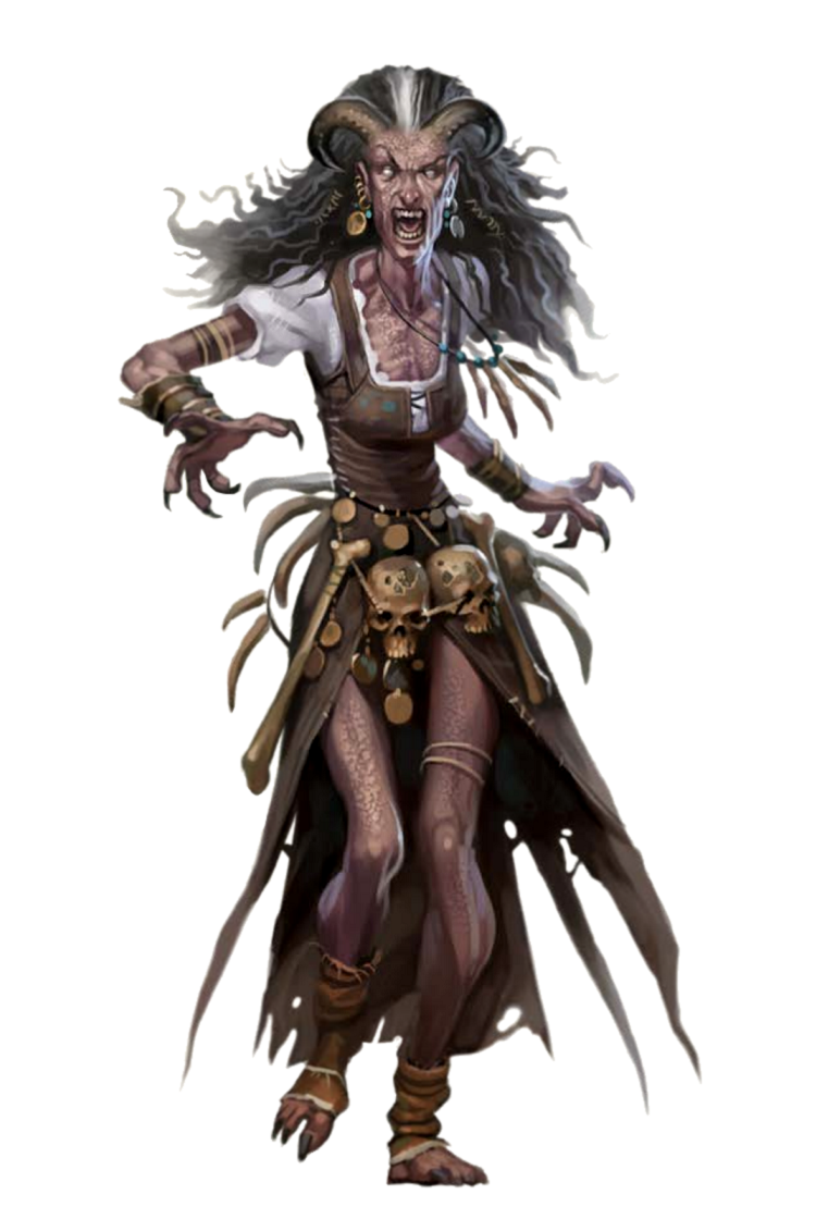 Night Hag - Pathfinder PFRPG DND D&D 3.5 5th ed d20 ...