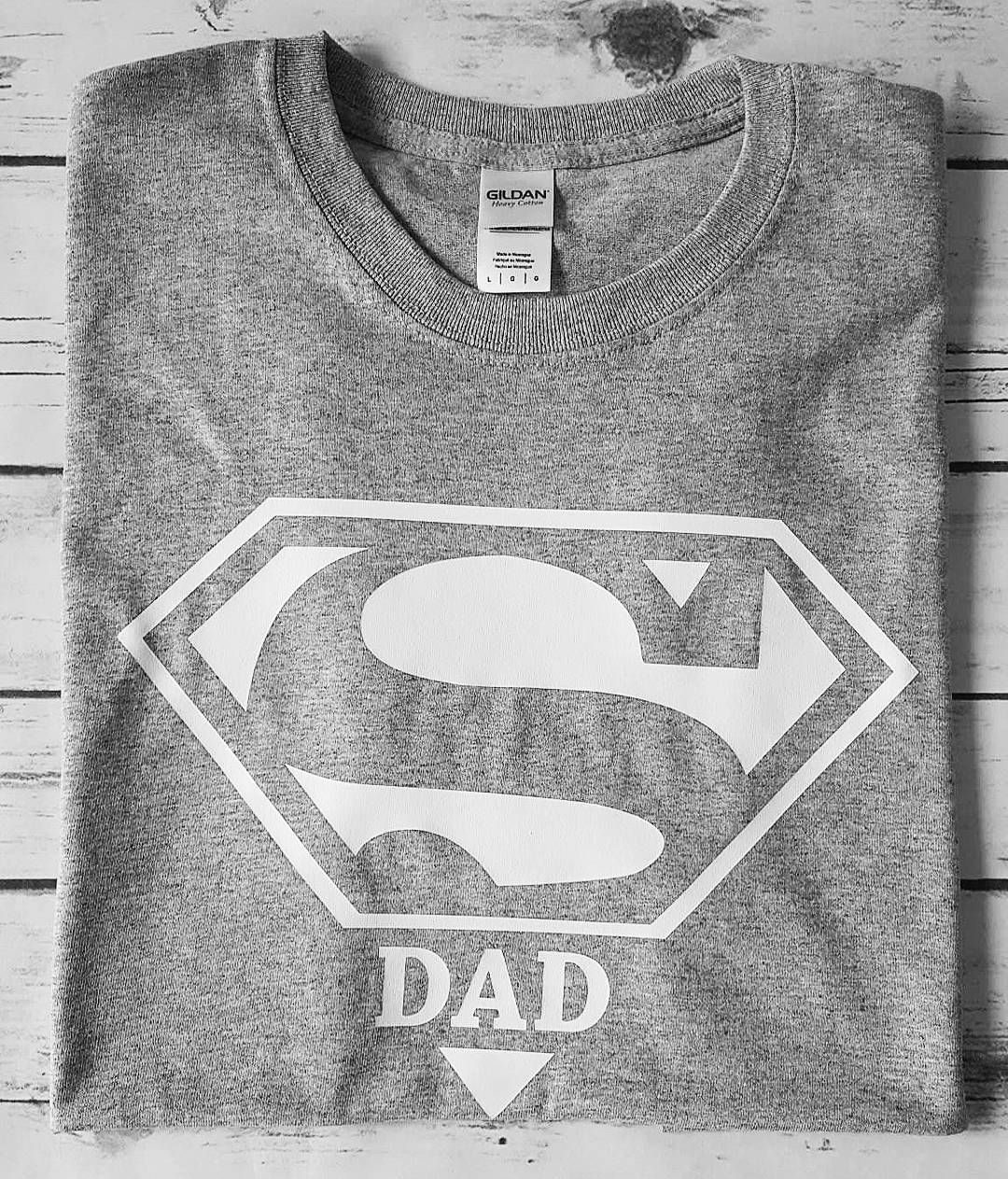 9aa2444d Men's SuperDad t-shirt also comes as a family set (SuperDad, SuperMom,  SuperCute)
