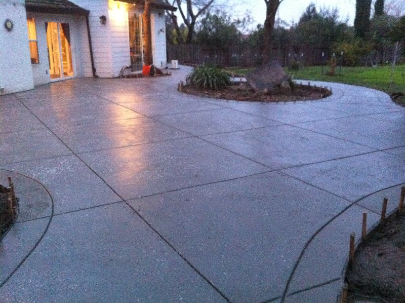 salt rock concrete finish - Google Search | Walkway ...