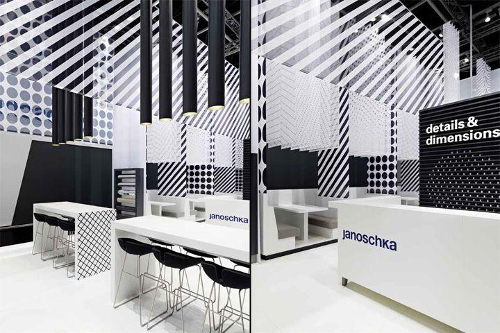 Janoschka Fair stand at drupa 2012 by Ippolito Fleitz Group, Düsseldorf exhibit design