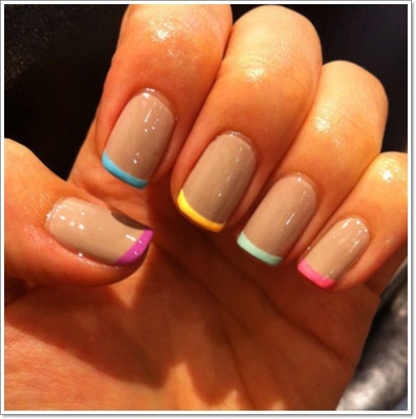 Gel Nail Art Designs For Girls